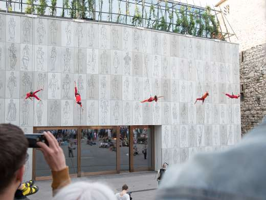 öff öff aerial dance, Foto: Peter Koehl