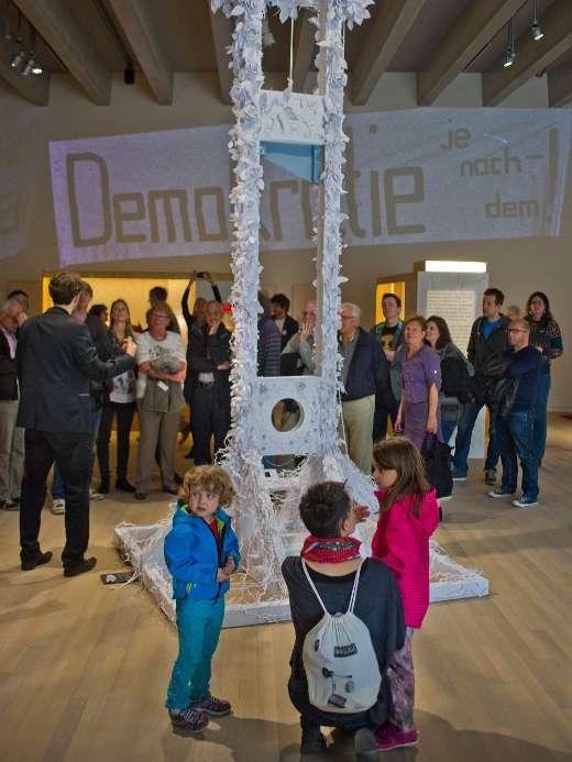 Wechselausstellung «Demokratie!», 2.OG, Foto: Jiri Vurma