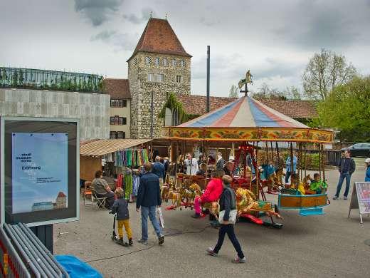 Historisches Karussell, Schlossplatz, Foto: Jiri Vurma