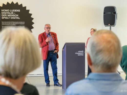 Christian Godart, Mitglied der Kommission Städteverbindung Neuenburg-Aarau