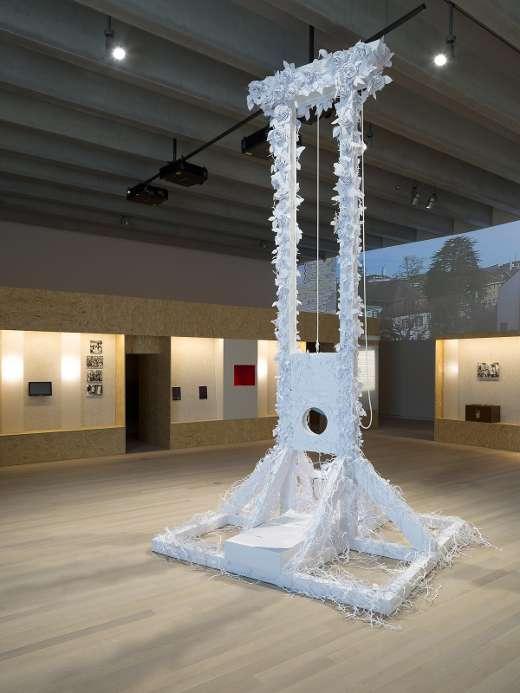 Blick in den Ausstellungssaal 2.OG